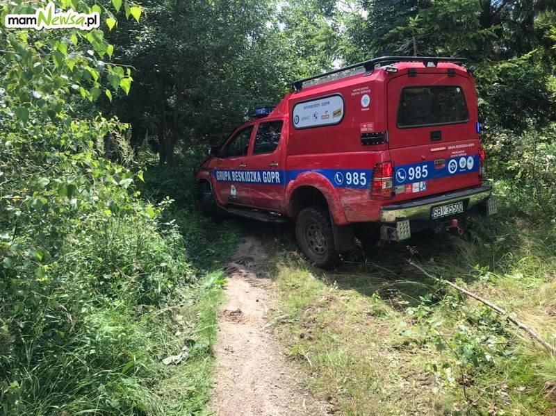 Wypadki rowerzystów w górach. GOPR apeluje o ostrożność