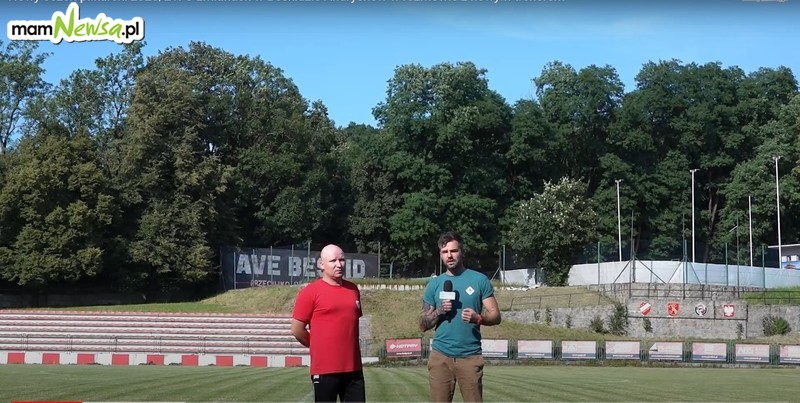 O zmianach w Beskidzie Andrychów w rozmowie z trenerem
