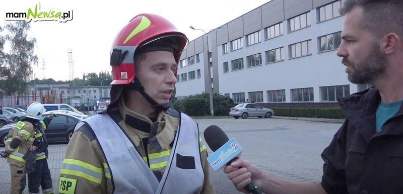 Co wydarzyło się w Zasławiu i jak przebiegała akcja gaśnicza? Znamy szczegóły
