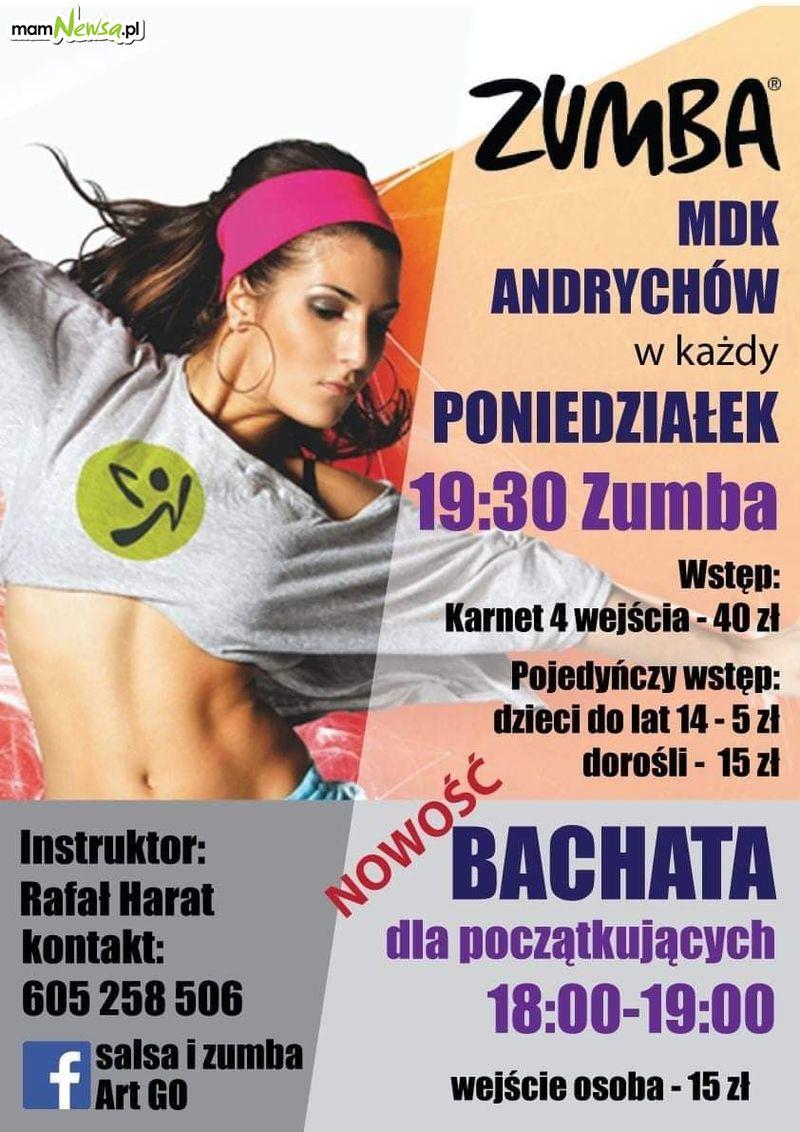 Zumba i warsztaty taneczne w MDK Andrychów. Zapisy!