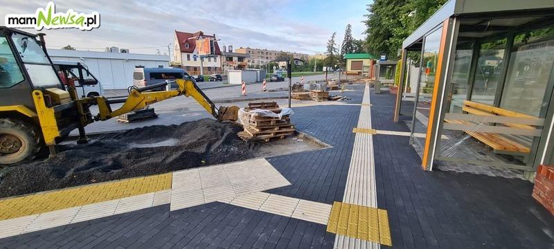 Nowe oblicze andrychowskiego dworca autobusowego [FOTO]
