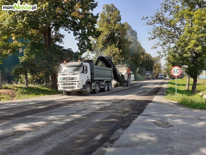Przez remont utrudnienia dla kierowców na krajówce
