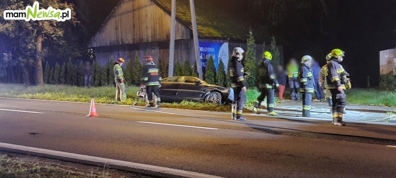 Wypadek na krajówce w Bulowicach