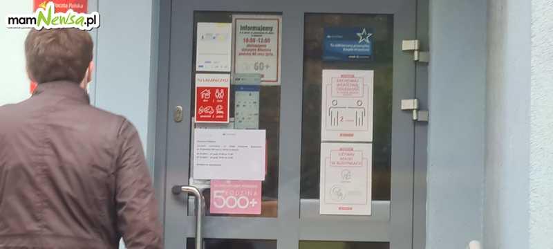 Poczta w Andrychowie skraca godziny pracy. Przez koronawirusa