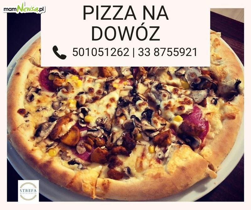 Pizza i obiady na dowóz z restauracji Strefa