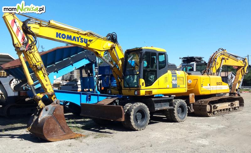 Przesiewacze, kruszarki, koparki, ładowarki oraz inne maszyny budowlane kupisz w firmie ADAMEX!