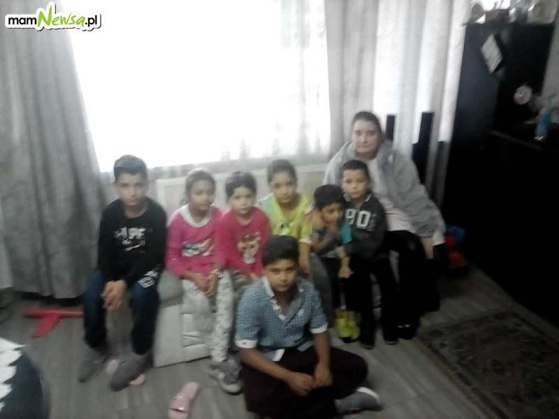 Potrzeba pomoc dla wielodzietnej rodziny. Musieli uciakać z Pakistanu. Ojciec został postrzelony