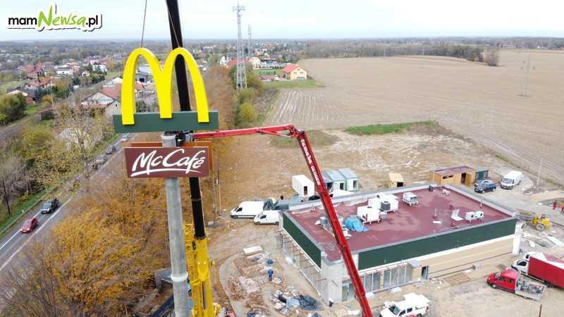 Budowa McDonald's w Andrychowie. Kiedy otwarcie? [VIDEO]