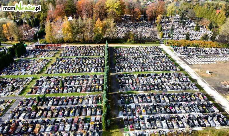 Puste cmentarze 1 listopada. Tak jeszcze nigdy nie było [FOTO]