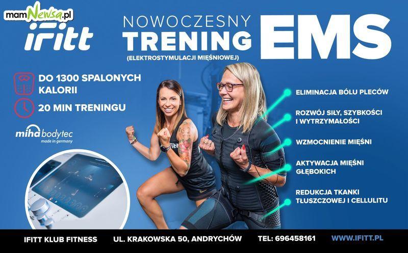 Nowoczesny trening EMS! Ciesz się efektami w 20 min! IFITT Andrychów