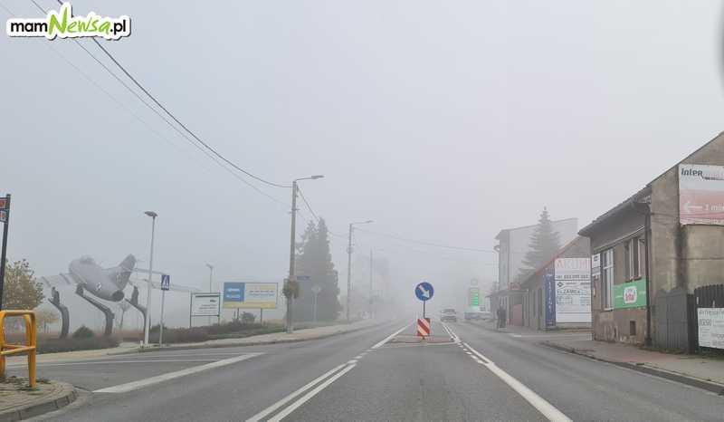 Bez deszczu, ale z mgłami i smogiem