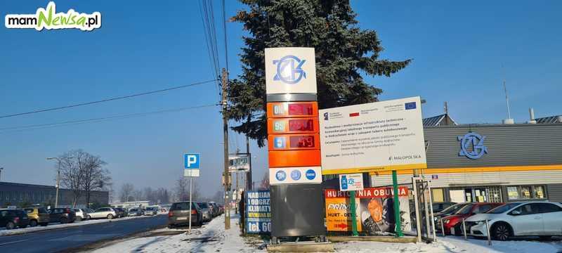 Najtańsze paliwo w Andrychowie na stacji ZGK przy ulicy Batorego