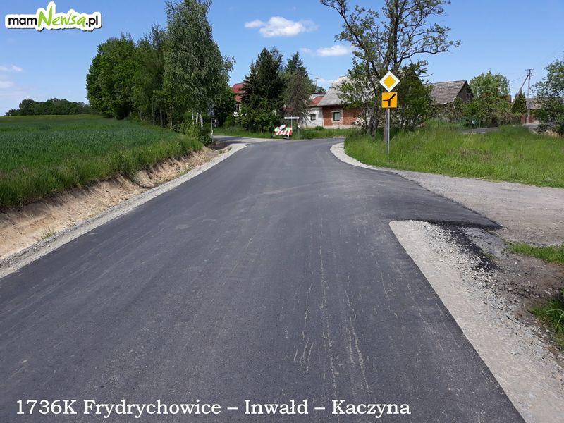 Nie tylko duże przebudowy. Ponad dwa miliony złotych na remonty cząstkowe dróg powiatowych