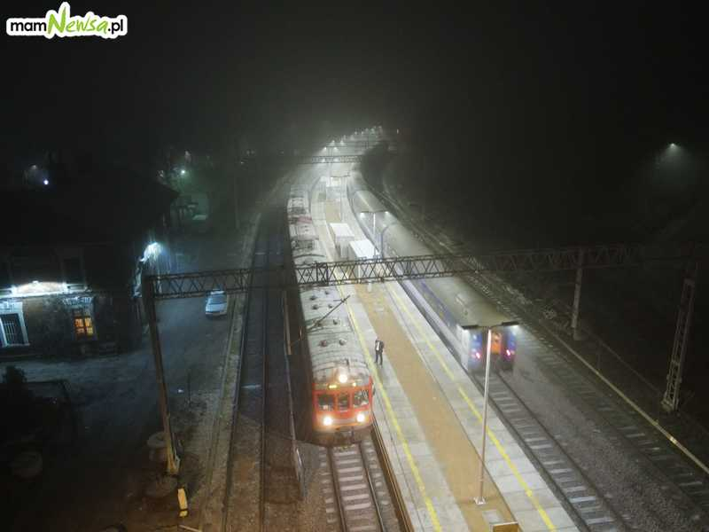 W sobotę rano na linię Andrychów - Wadowice wróciły pociągi [FOTO]