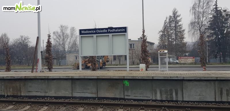 Nowy przystanek kolejowy - Wadowice Osiedle Podhalanin [FOTO]
