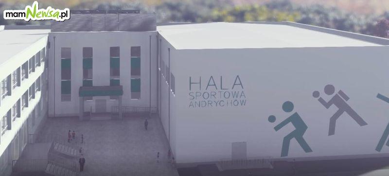 Tak mają wyglądać nowe sale przy szkołach w Andrychowie i Wadowicach [VIDEO]