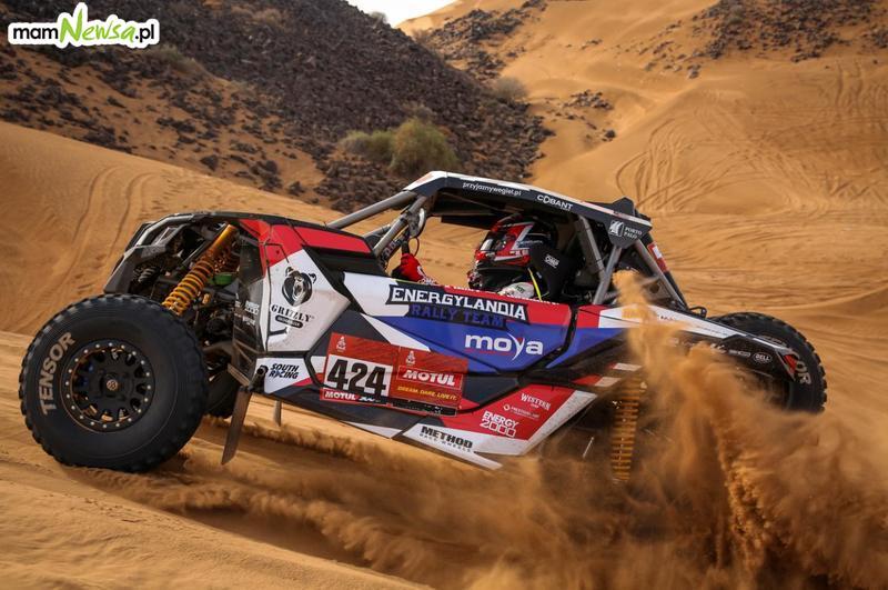 Podium dla ekipy Energylandia Rally Team podczas trzeciego etapu Rajdu Dakar