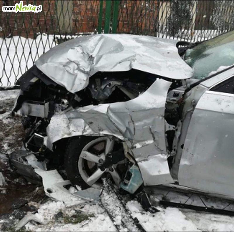 Fatalne warunki na drogach. Kolizja goni kolizję [FOTO] [AKTUALIZACJA]