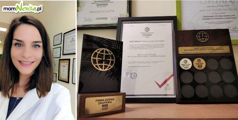 JEDYNE w Andrychowie Certyfikowane Centrum Dietetyczne -Naturhouse Firmą Godną Zaufania GOLD