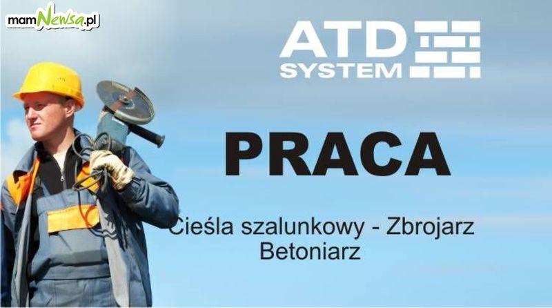 ATD System przyjmie do pracy