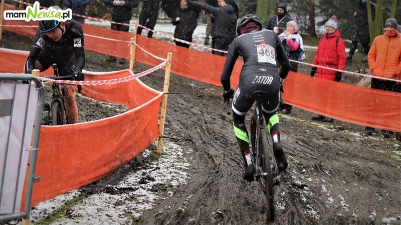Zima i kolarstwo? Dla najlepszych zawodników w Polsce to żaden problem [FOTO]