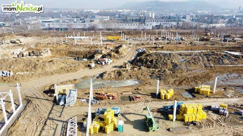 Rozkręca się budowa Galerii Andrychów [FOTO]