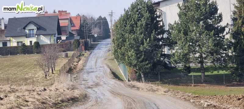 To najgorsza droga w gminie Andrychów, czy są jeszcze gorsze?