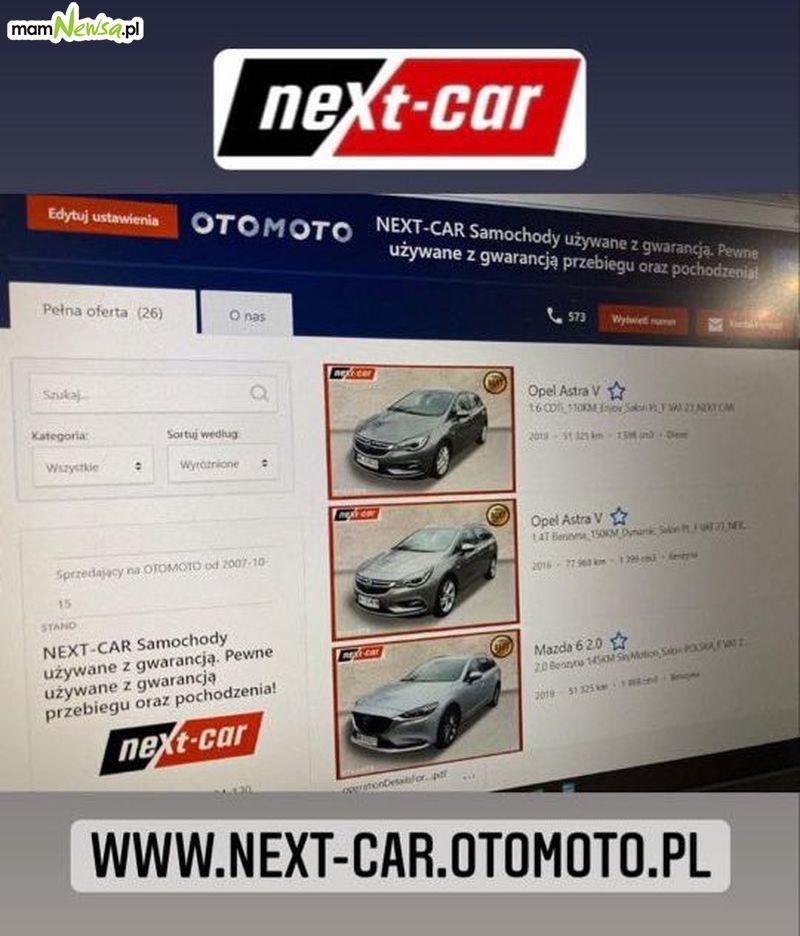 NEXT-CAR NOWE OFERTY! Zapraszamy w niedzielę od 10:00 - 14:00