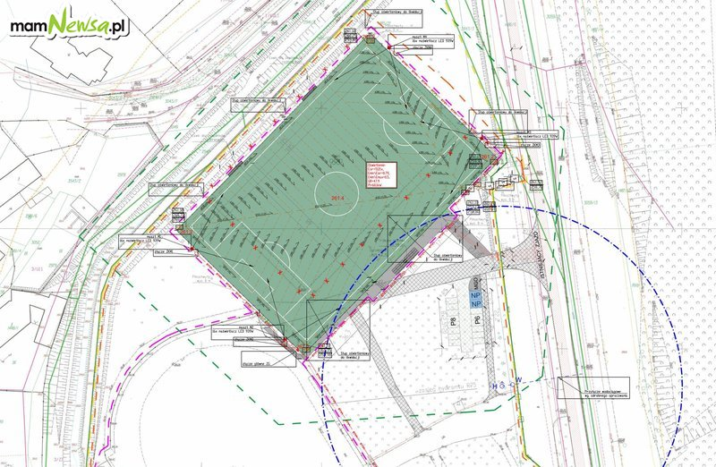 Jest projekt, wkrótce przetarg na budowę nowoczesnego boiska na Skawie