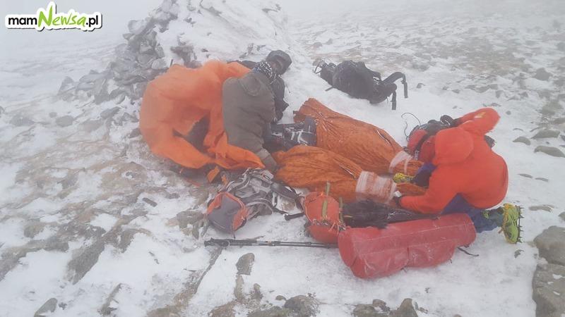 Dramatyczna akcja ratownicza w górach, kilka osób trafiło do szpitala