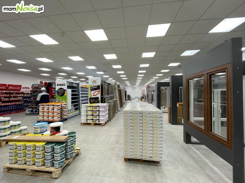 Już w poniedziałek otwarcie nowego sklepu budowlanego Nowostyl