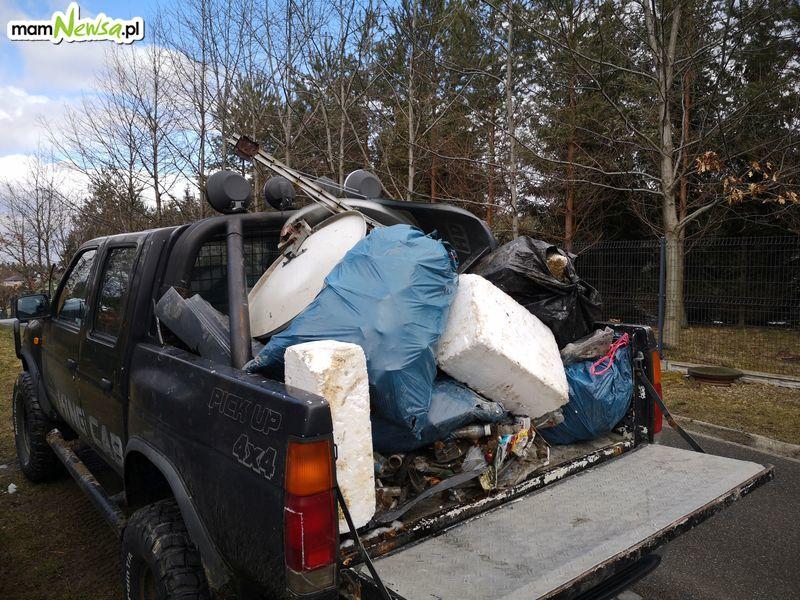 Obywatelska akcja sprzątania. Zebrano górę śmieci