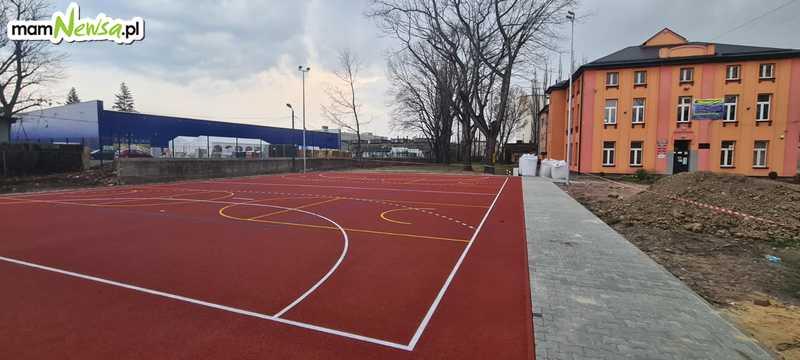 Nowe boisko przy Bawełniance