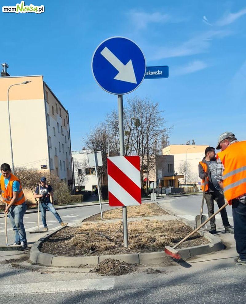 Ruszyła akcja sprzątania andrychowskich ulic