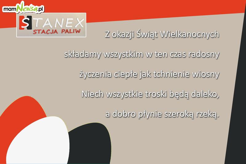 Życzenia świąteczne od firmy Stanex - stacja paliw w Sułkowicach k. Andrychowa