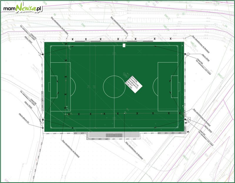 Jeszcze w tym roku całkiem nowe boisko na stadionie Skawy
