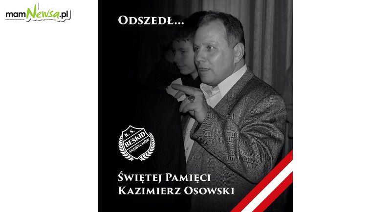 Zmarł Kazimierz Osowski