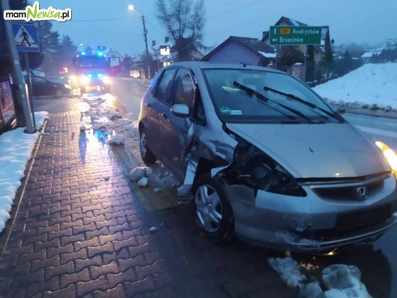 Zderzenie na skrzyżowaniu w Sułkowicach [FOTO]