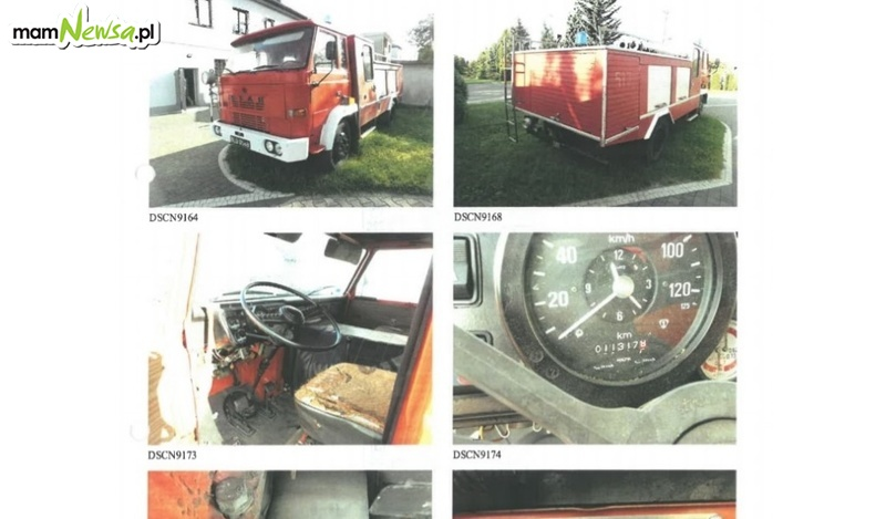 Do sprzedania wóz strażacki z 1989 roku. Ktoś chętny?