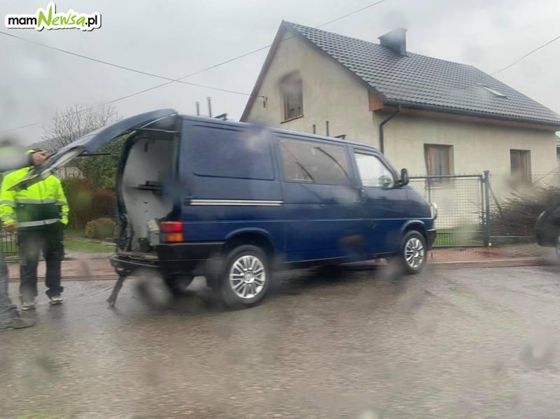 Kolizja na krajówce w Jaroszowicach