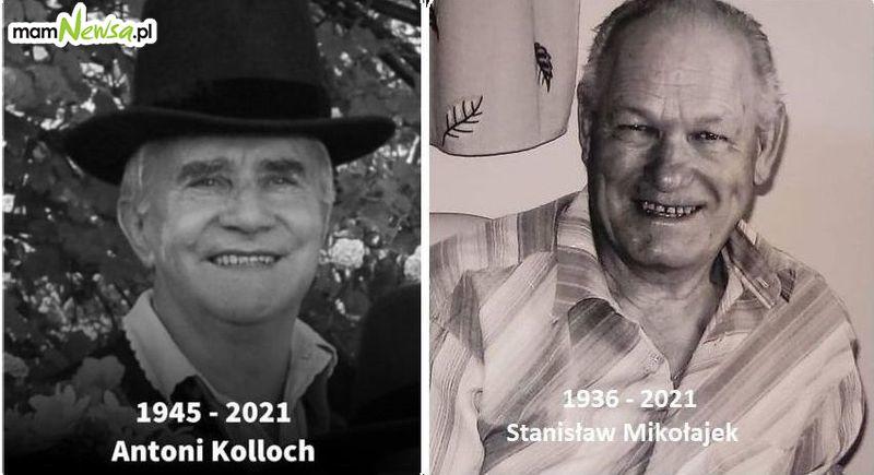Zmarli Antoni Kolloch i Stanisław Mikołajek