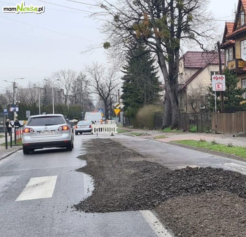 Awaria kanalizacji. Przez kilka dni zamknięta będzie ulica Dąbrowskiego w Andrychowie