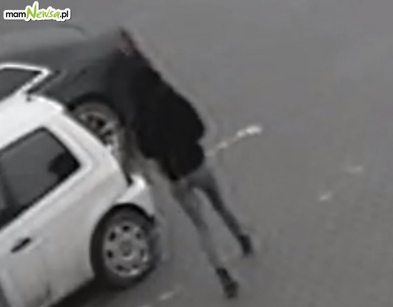 Policja szuka sprawczyni kolizji parkingowej [FOTO]
