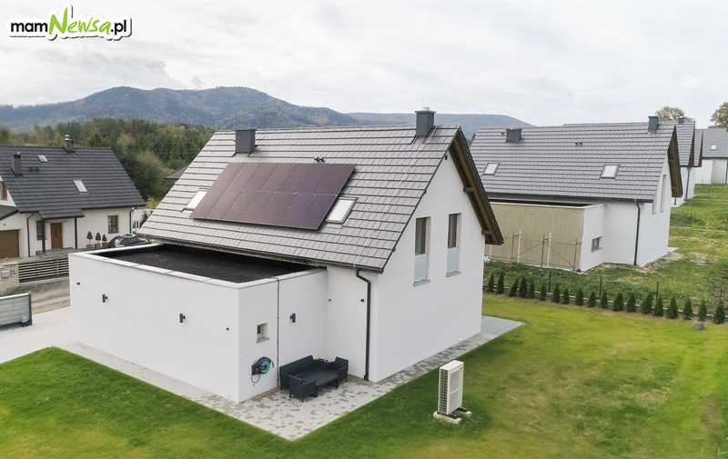 Na sprzedaż nowoczesne domy wolnostojące w Andrychowie z widokiem na góry