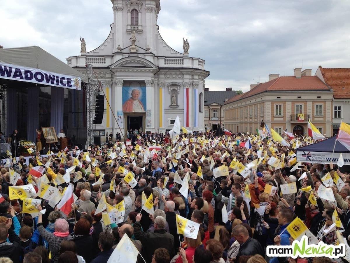 7. rocznica kanonizacji Jana Pawła II. Tak to wyglądało w Wadowicach [FOTO]