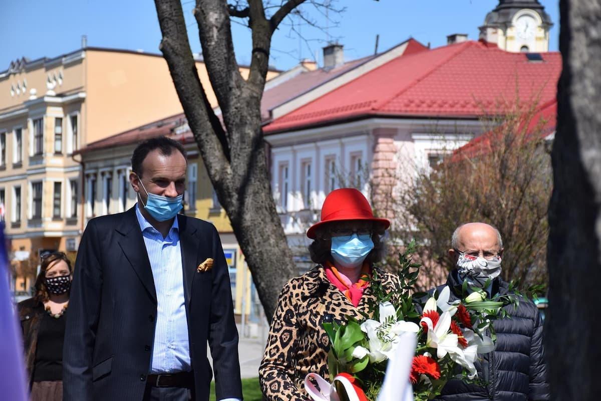 Rozpoczęcie uroczystości majowych w Andrychowie [FOTO]