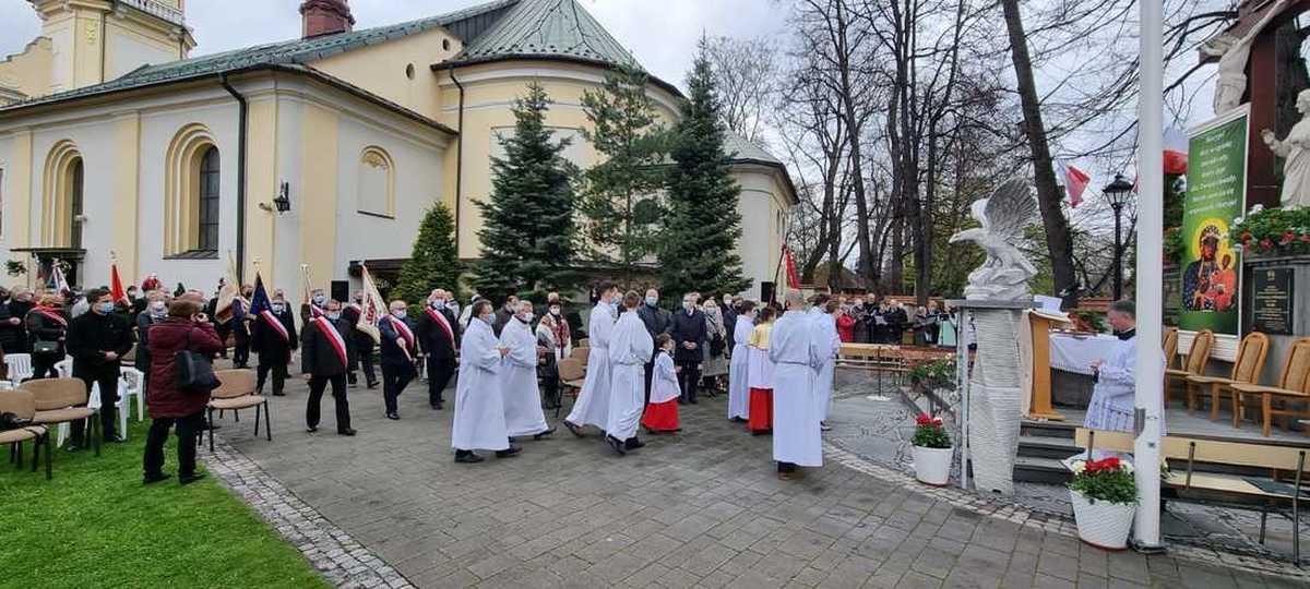 Tak w Andrychowie obchodzono święto Konstytucji 3 Maja [FOTO]