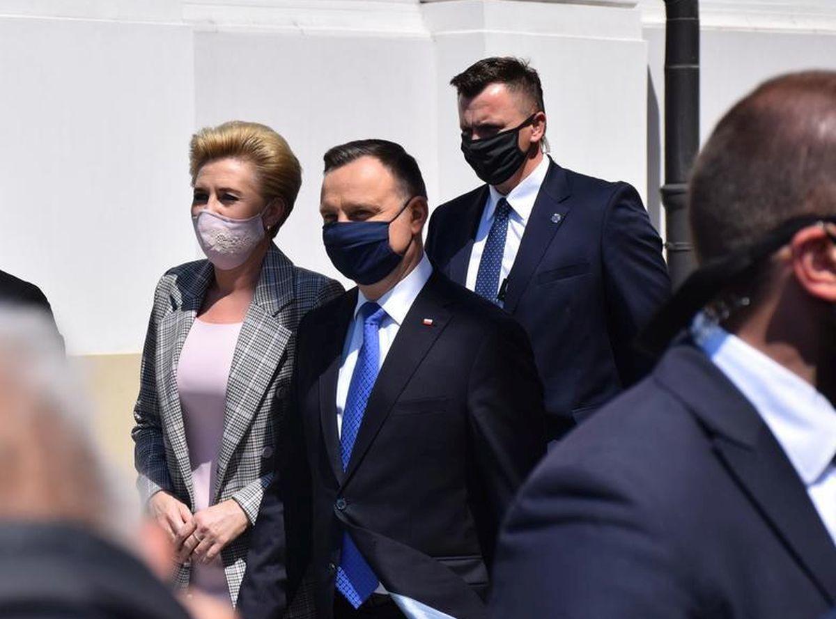 Prezydent Andrzej Duda przyjedzie w piątek do strażaków