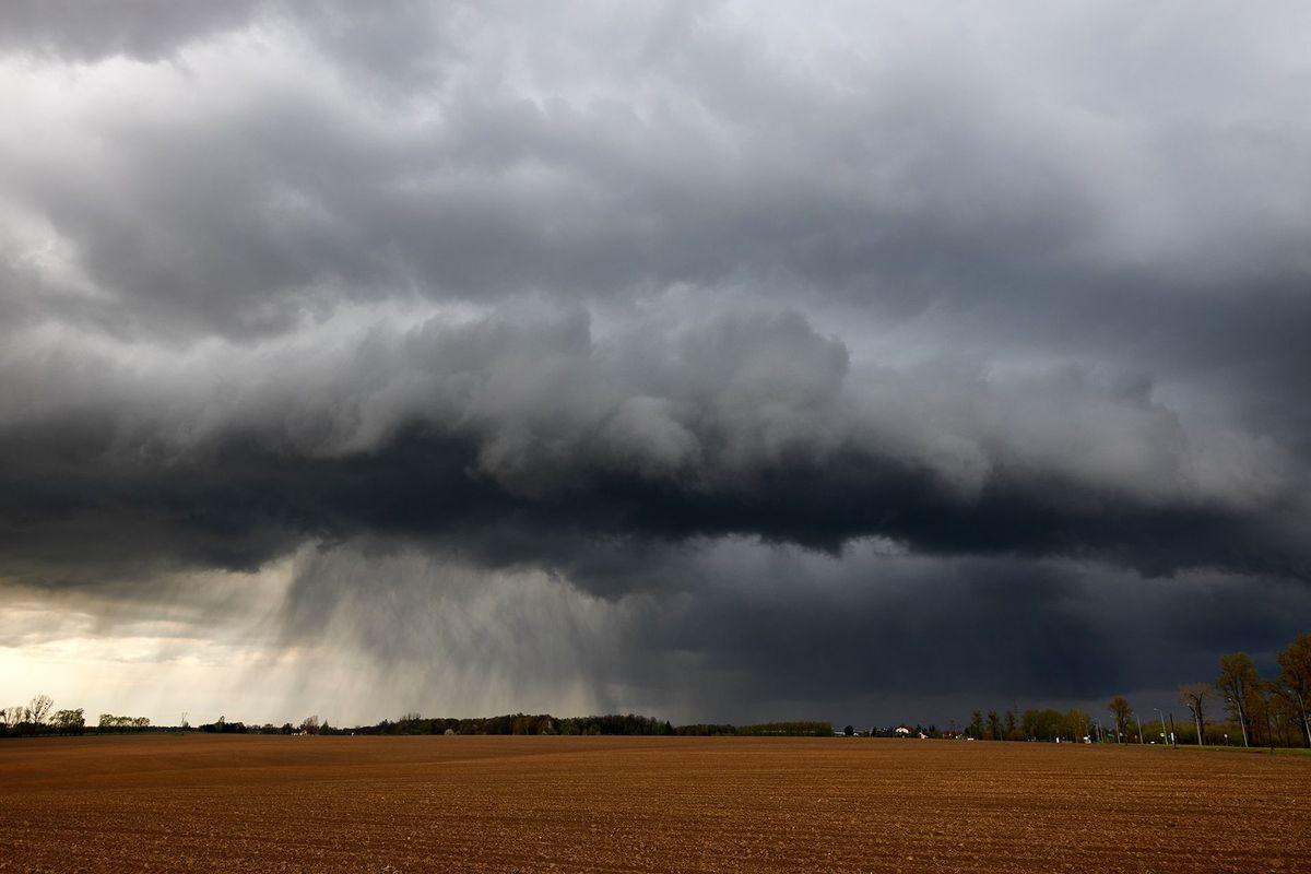 Majowa pogoda. Zdjęcie z Andrychowa. Od niedzieli znacznie cieplej