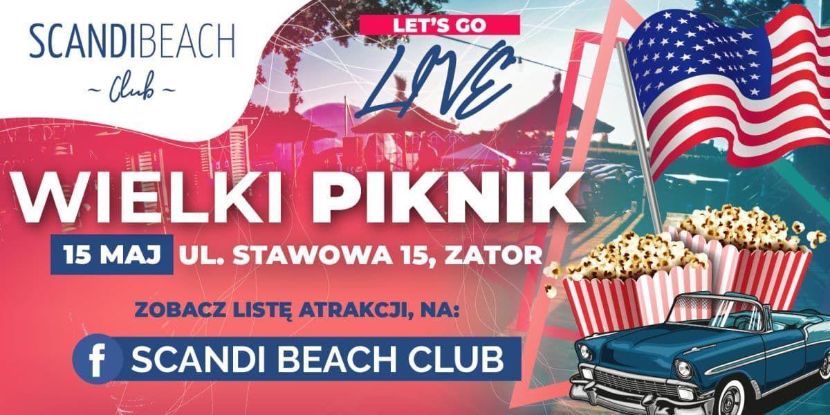 Let's Go Live Wielki Piknik w Scandinavia Resort & Marine Zator